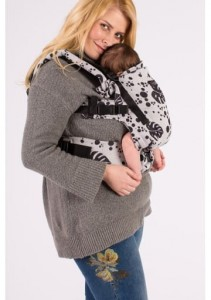 Isara Baby Carrier- Philodendra Silver Gray  - THE ONE