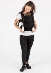 Isara Cotton Carrier - Black-a-Porter - The ONE