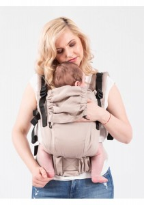 Isara Baby Carrier - Caffe Latte  - THE ONE