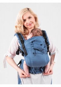 Isara Baby Carrier - Bluestone - THE ONE