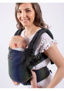 Isara Cotton Carrier - Pixelated - Blue Planet - THE ONE