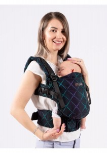 Isara Baby Carrier- Diamonda Play of Lights - THE ONE